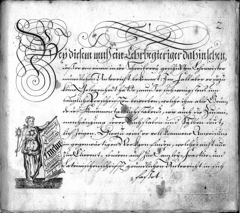 Calligraphie S. 2
