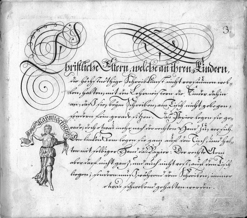 Calligraphia S. 3
