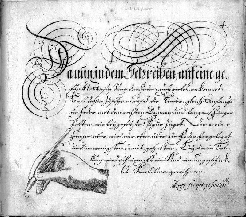 Calligraphia S. 4