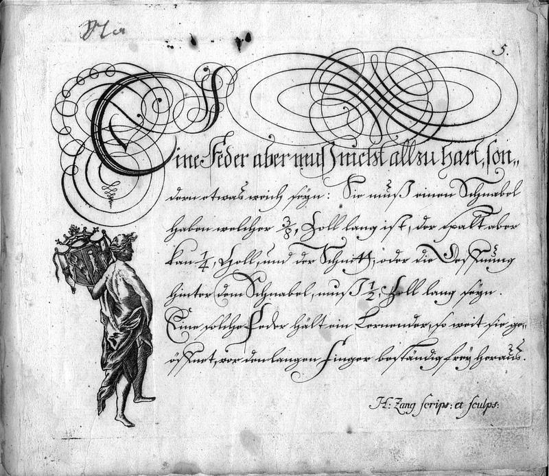 Calligraphia S. 5