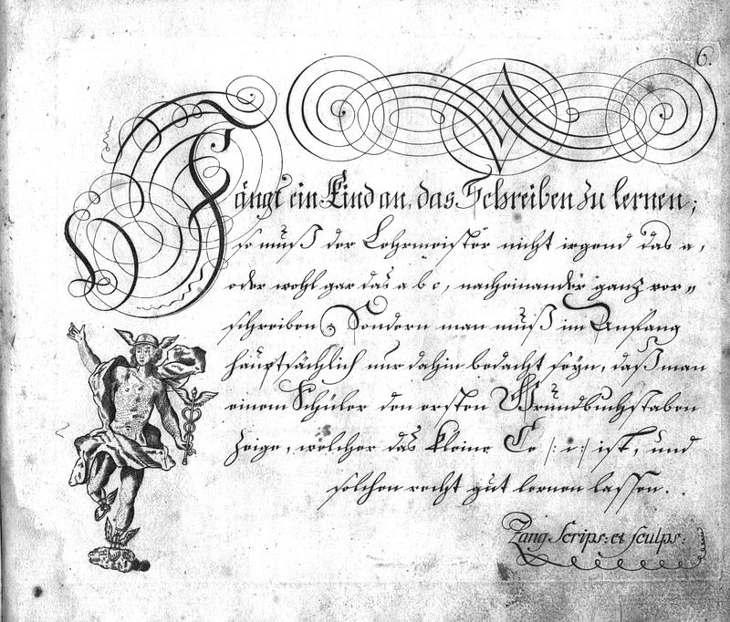 Calligraphia S. 6