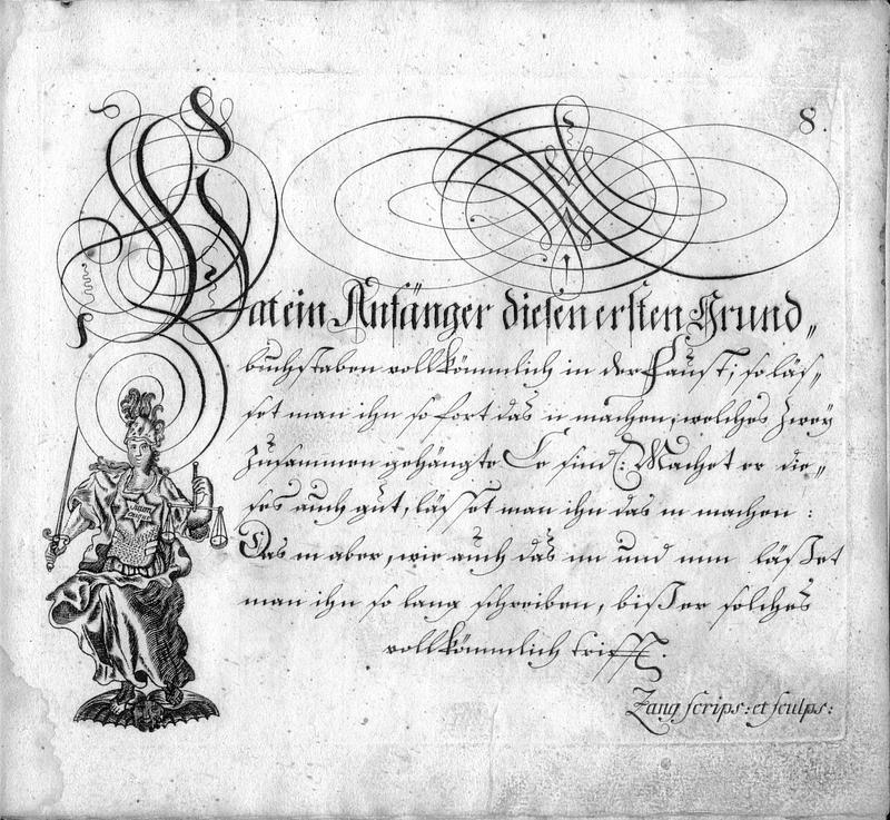 Calligraphia S. 8