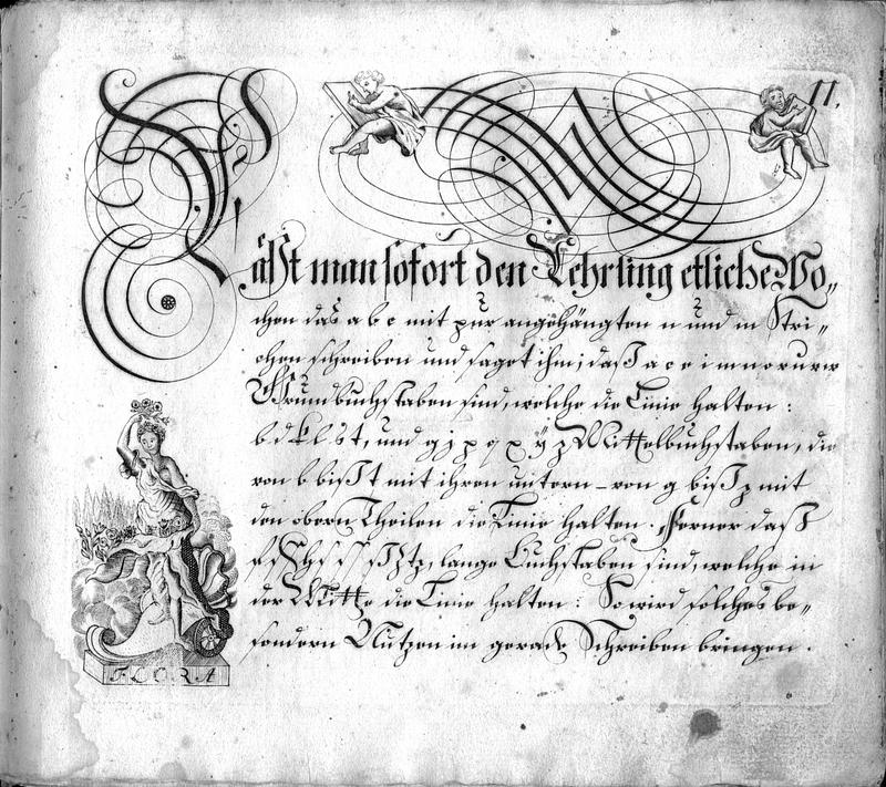 Calligraphia S. 11