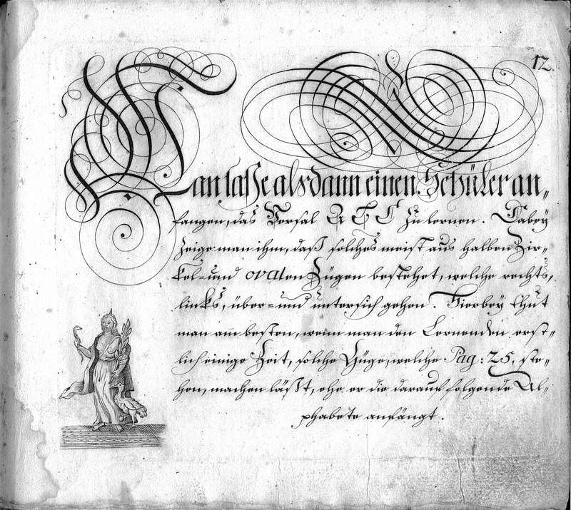 Calligraphia S. 12