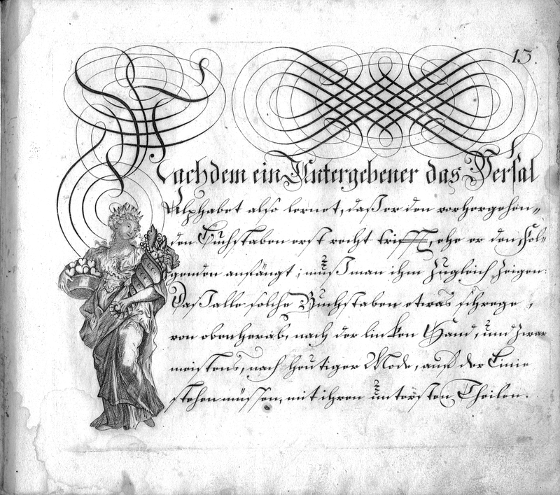 Calligraphia S. 13