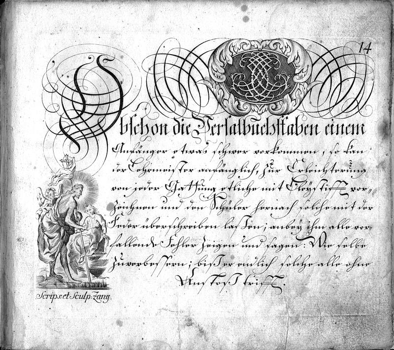 Calligraphia S. 14