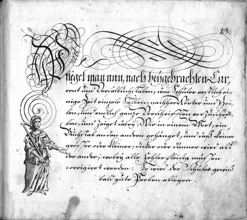 Calligraphia S. 15