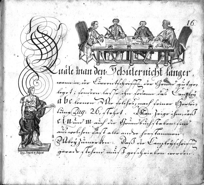 Calligraphia S. 16