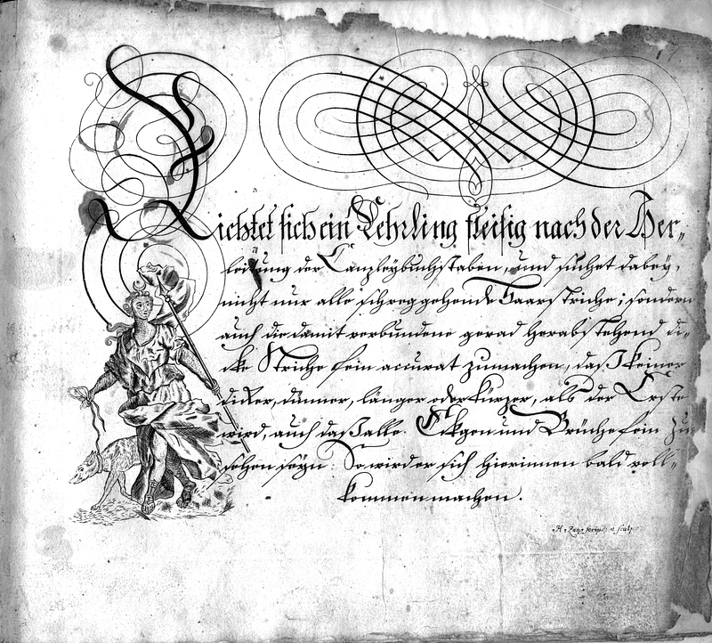 Calligraphia S. 17