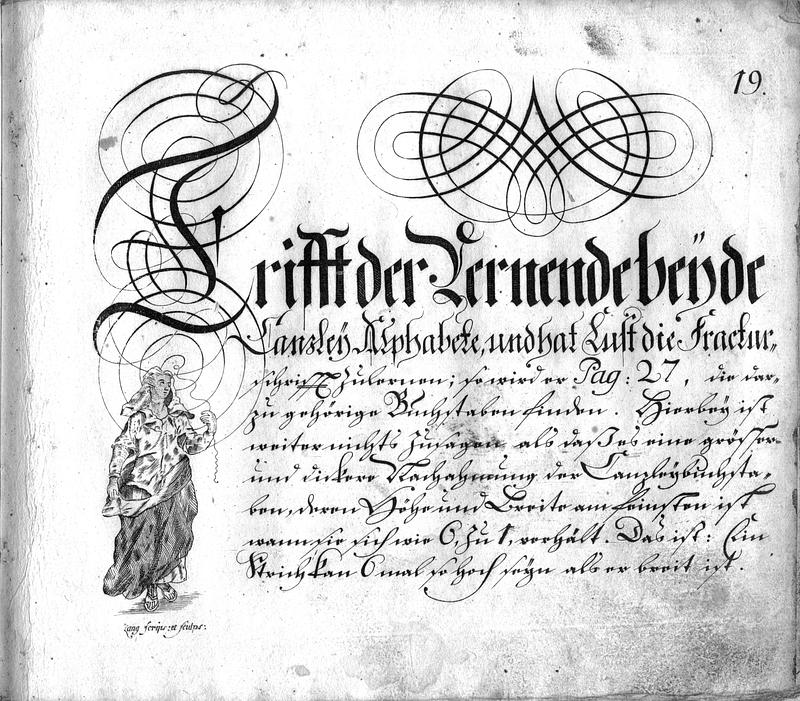 Calligraphia S. 19