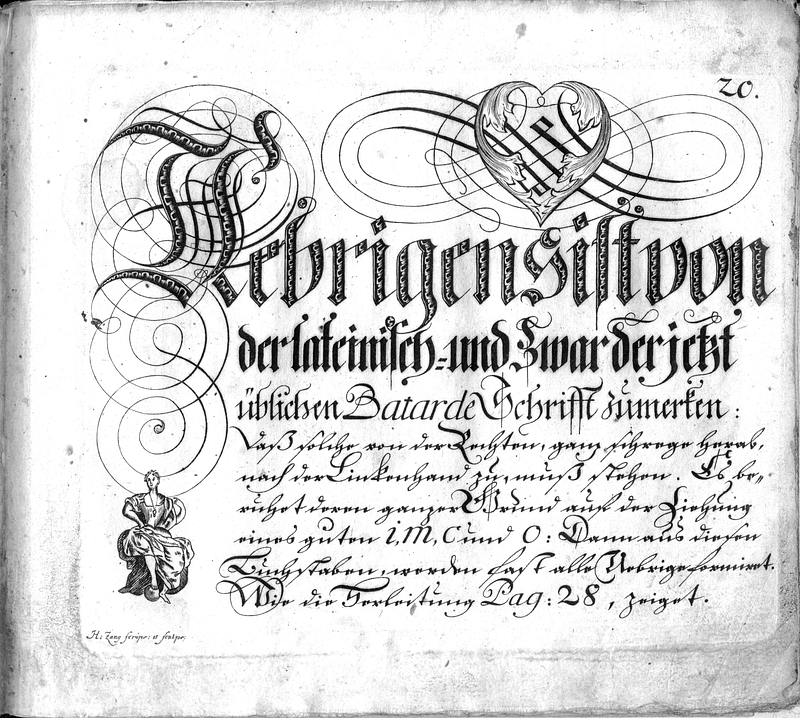 Calligraphia S. 20