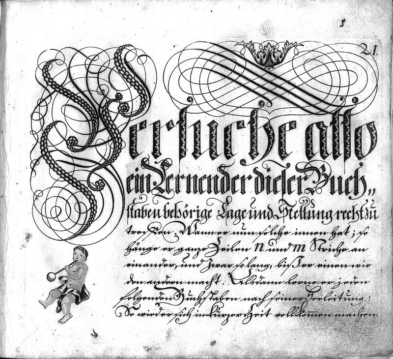 Calligraphia S. 21