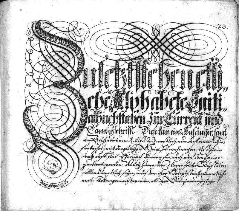 Calligraphia S. 23