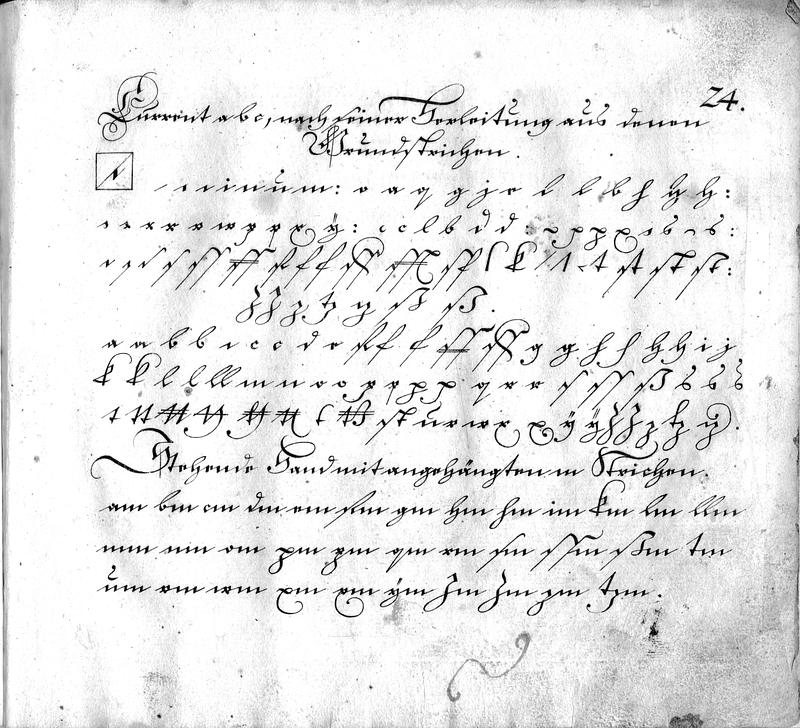 Calligraphia S. 24
