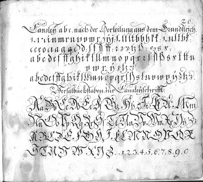 Calligraphia S. 26
