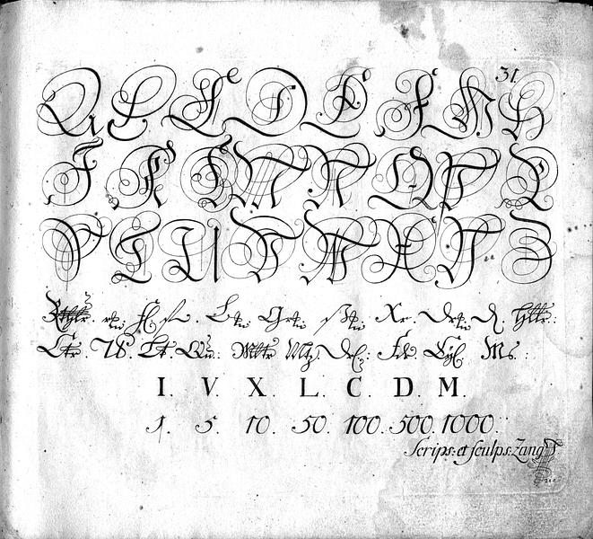 Calligraphia S. 31