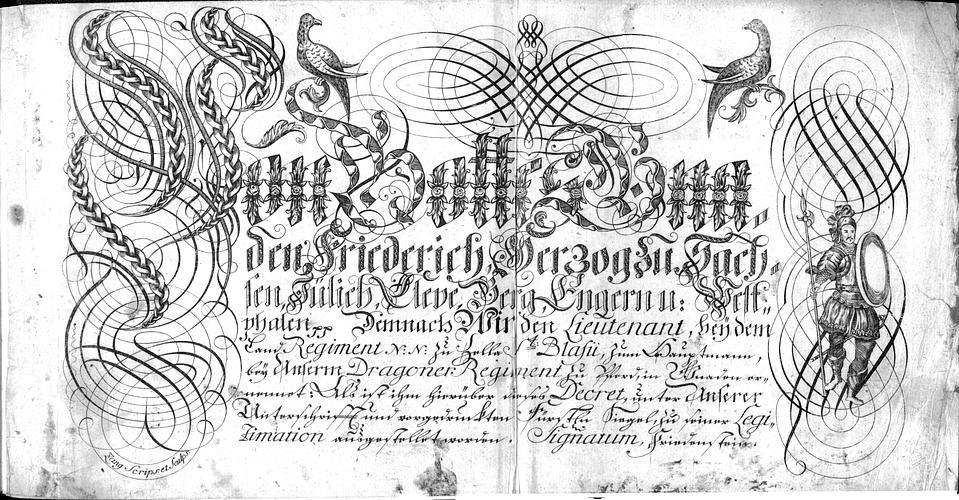 Calligraphia S. 35