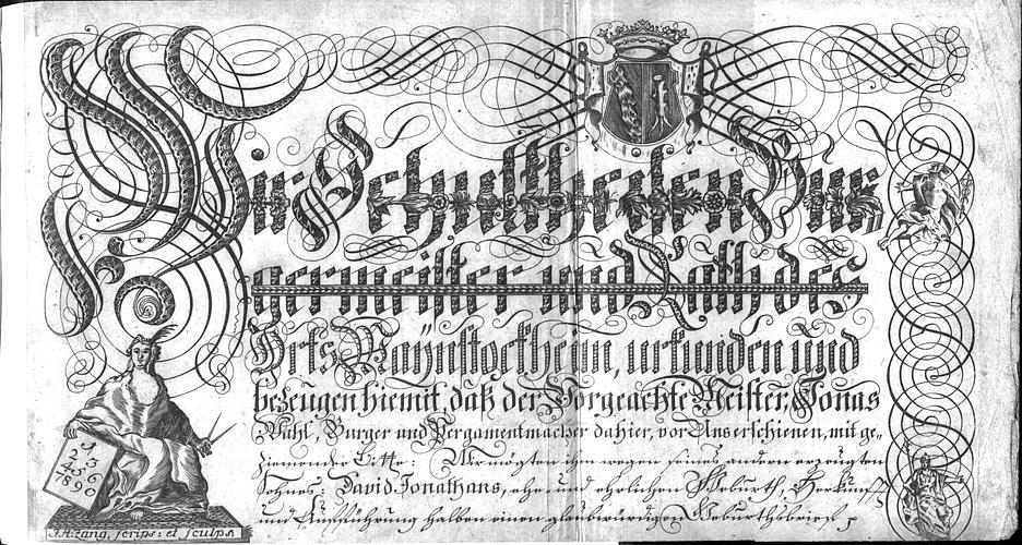 Calligraphia S. 37
